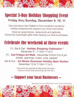 Special 3-Day Holiday Shopping Event!