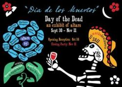 Vote for your favorite Dia de los Muertos altar!