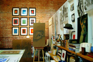 Lisa Long's Studio